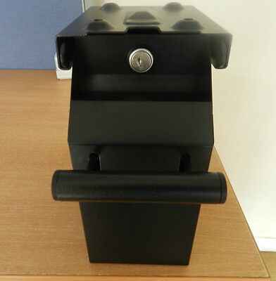 Brand New Under Counter Pos Retail Money Note Safe Shop Money Box Drop Box Black