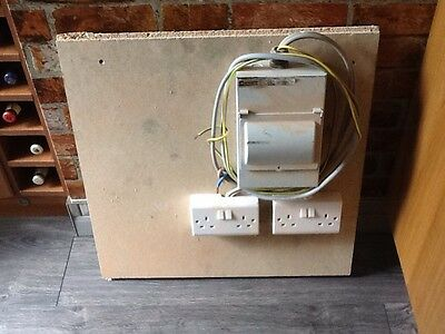 Temporary Electrical Fuse Board Supply