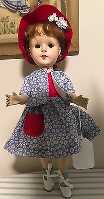 """15"""" hard plastic Am Character Sweet Sue unmarked DOLL"""