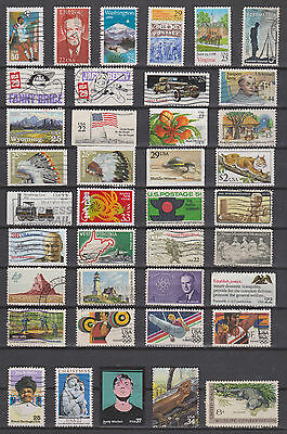Collection Of Used Stamps  From  The Usa    , See Scan