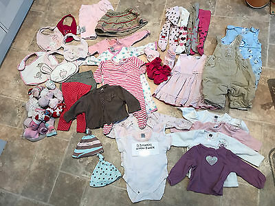 🌟🌟🌟Lovely bundle of Winter girls clothes - 0-3 months