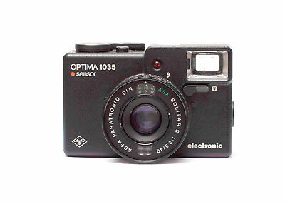 Agfa Optima 1035 35mm Kompaktkamera Defekt! N.1066