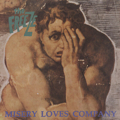 THE FREEZE Misery Loves Company LP Taang Records Hardcore Punk