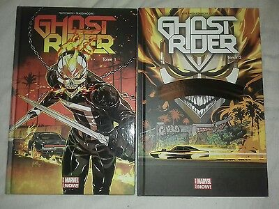 marvel 100 % ALL NEW GHOST RIDER tome 1 et 2