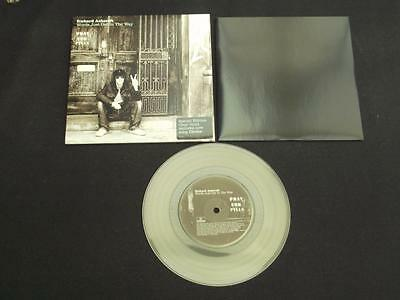 "Richard Ashcroft Words Just Get In The Way 2006 7"" Clear Vinyl Record Single"