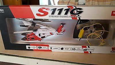 Syma S11G helicopter (Indoor only)