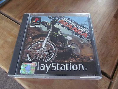 Motorcross Mania - Play-station One Game PS1 PS2 - PAL complete