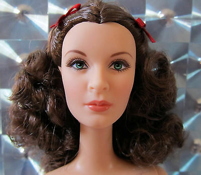 Nude Barbie 2014 Gone With The Wind Scarlett O'hara With Stand & Coa