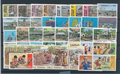 [G92611] Tokelau good lot Very Fine MNH stamps