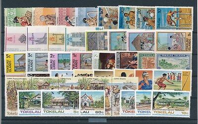 [G92612] Tokelau good lot Very Fine MNH stamps