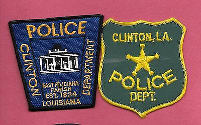 Louisiana- 2 Issues- Clinton Police Dept - Old & New Style
