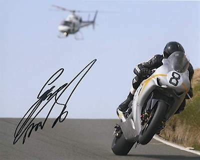 Guy Martin 2010 Isle of Man TT 10 x 8 Autographed Photo & we can show you proof