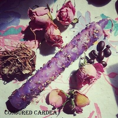 Queen B*tch Candle-Hoodoo, Witchcraft-Success, Power,Control-Ends Competition