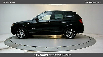 2017 BMW X3 sDrive28i Sports Activity Vehicle sDrive28i Sports Activity Vehicle New 4 dr Automatic Gasoline 2.0L 4 Cyl Black S