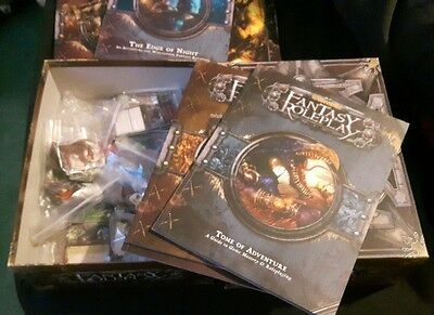 Warhammer Fantasy Roleplay 3rd edition Core set with Edge of night expansion