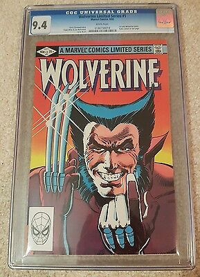 Wolverine Limited Series #1 CGC 9.4 WP