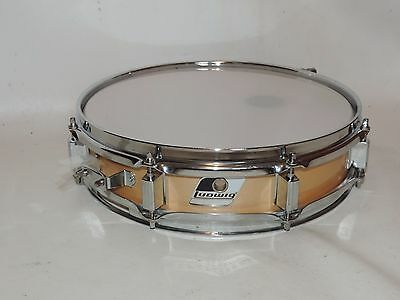 "Ludwig 3 x 13"" Piccolo Snare Drum # 834900 New Heads"