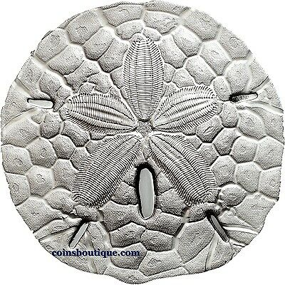 SAND DOLLAR 1oz Proof Silver Coin Palau 2017 *oversized*
