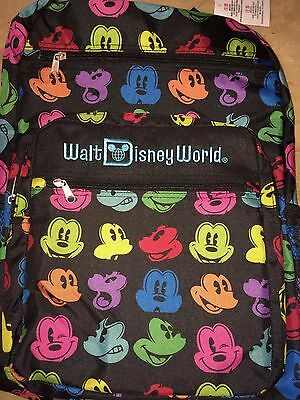 Disney Mickey Parts Backpack Authentic Large