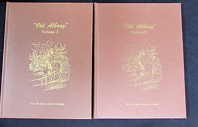 Vintage Rare Old Albany Vol 1 & 2 History Of Albany New York - Gerber Collection