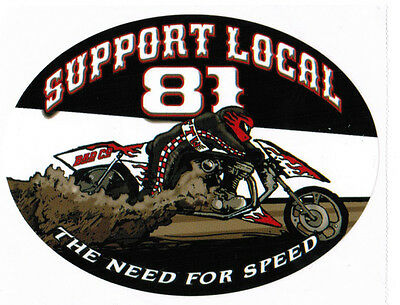 """Hells Angels Big House Crew """"capable Of Evading"""" Support Stickers"""
