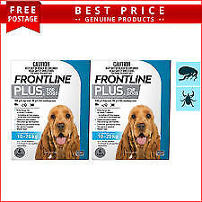 Winter Special Frontline Plus 10-20Kgs Only  $46.50 Six Mths Control For Fleas
