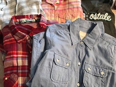 Awesome Women's Lot Of Tops Shirts Size M Medium Aeropostale American Eagle More