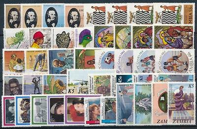 [G106008] Zambia Good lot of Very Fine MNH stamps