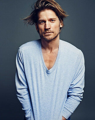 Nikolaj Coster-Waldau 8 X 10 Photo Ser Jaime Lannister Hot Game Of Thrones Actor