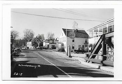 Rppc Texaco & Gulf Gas Stations~South Londonderry,vt,vermont