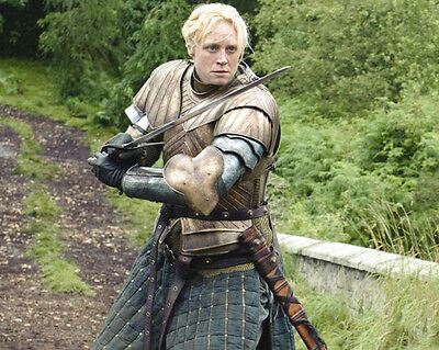 Gwendoline Christie 10 X 8 Colour Photo Brienne Of Tarth Game Of Thrones Actress