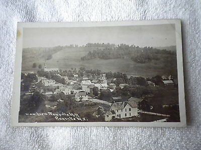 Vintage Rppc View From Rexville Hill  Ny Post Card  New York