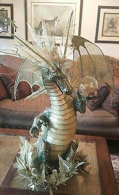 huge magical dragon figurine by Katherine's Collection