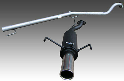 Astra Mk4 Hatch 1.8 16v Hoffmann Performance Race Exhaust System - Single 3""
