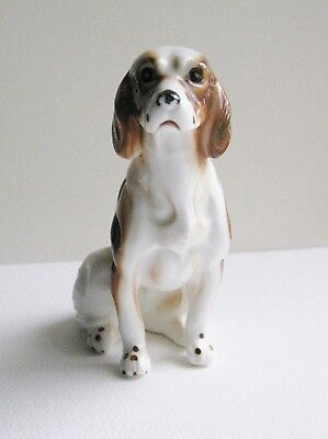 Vintage English/ Brittany/ Springer Spaniel Dog Figurine-Made in Japan