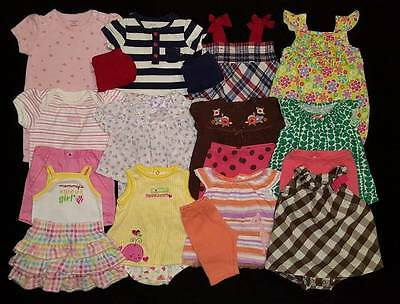 Baby Girls 3/6 Months Summer Outfits Clothes Lot Free Shipping