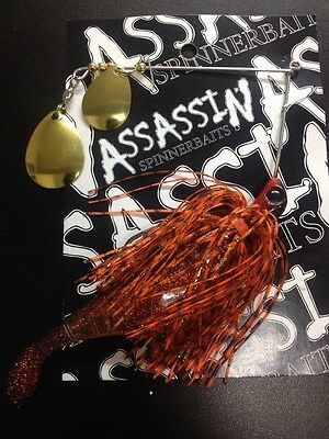 Assassin Spinnerbaits murray cod and yellowbelly 1 X 5/8 OZ #62