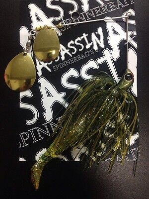Assassin Spinnerbaits murray cod and yellowbelly 1 X 5/8 OZ #23