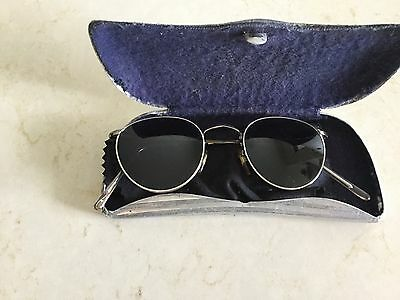 Vintage sunglasses by optical affairs christian comes with Antique case