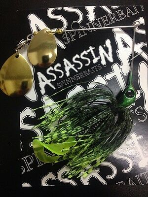 Assassin Spinnerbaits murray cod and yellowbelly 1 X 5/8 OZ #77