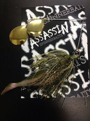 Assassin Spinnerbaits murray cod and yellowbelly 1 X 5/8 OZ #31