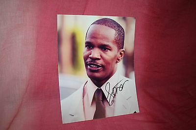 Autographed Jamie Foxx 8X10 Photo Free Shipping