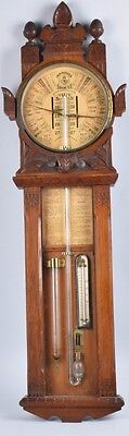 RARE Antique 1800's Admiral Fitzroy (  Improved Toricelli ) Barometer