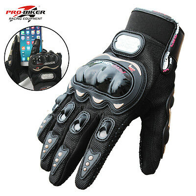 Motorcycle Gloves Racing Cycling Bicycle Protective Gears Touch Screen Gloves L