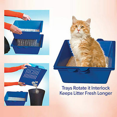 Cat Self Cleaning Litter Box High Capacity Litter Disposal System for Littermaid