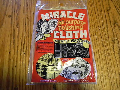 *miracle Cloth* Cleans & Polishes Knives,swords,guns, Fine Jewelry Large 9X12