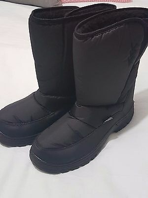 Black Snow Boots -  Chute Brand - Women's  Size 9.5 Us - New With Tags