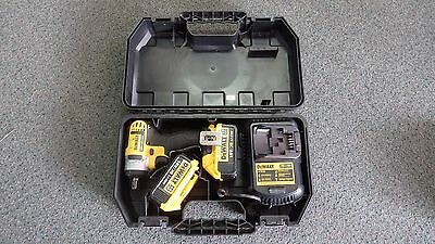 Dewalt DCF880-XE 18V Impact Wrench - 2 batteries with charger in carry case