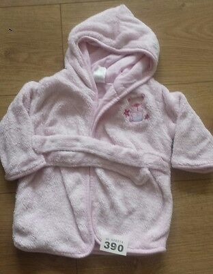 baby girls dressing gown, clothes age 6-9 months.