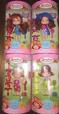 Strawberry Shortcake - FOUR 2004 Island Tropical Hula Dolls - HTF!! MINT